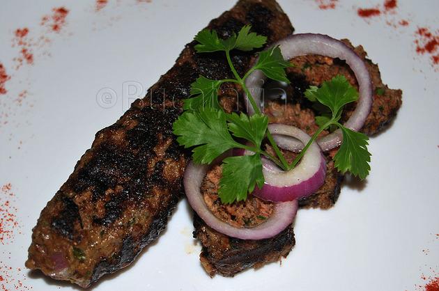 Kebab cu arome indiene