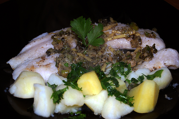 Pește cu sos iute-acrișor
