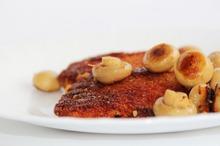 Şniţele din peşte alb şi ciuperci