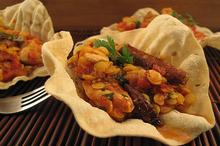 Curry de pui cu linte galbenă