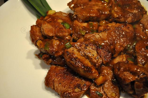 Curry tailandez cu mușchi