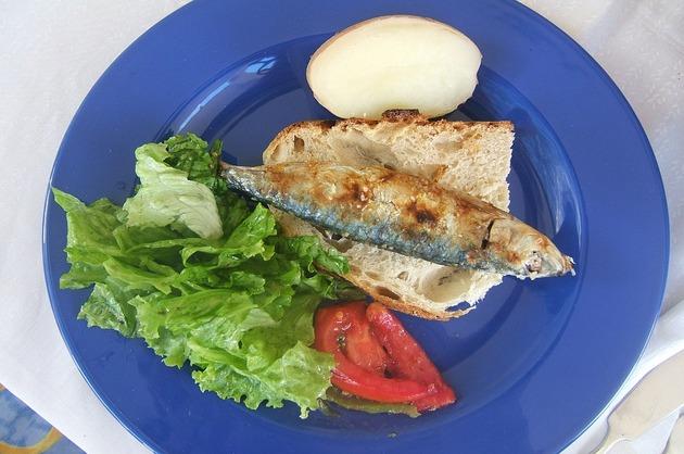 Sardine la grătar