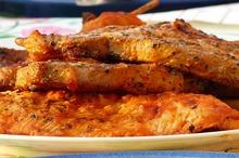 Muşchiuleţ de porc la grătar
