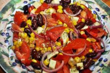 Salată cu iz mexican