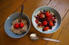 Mix de cereale şi fructe