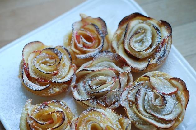 Trandafiri cu mere