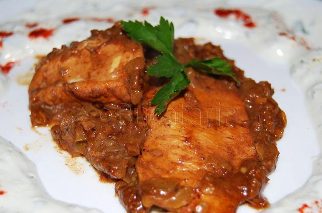 Pui persan cu scorțișoară și lămâie