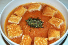 Gazpacho Andaluz - supă rece de legume