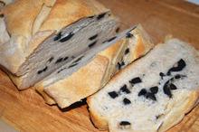 Pâine cu chimen și măsline