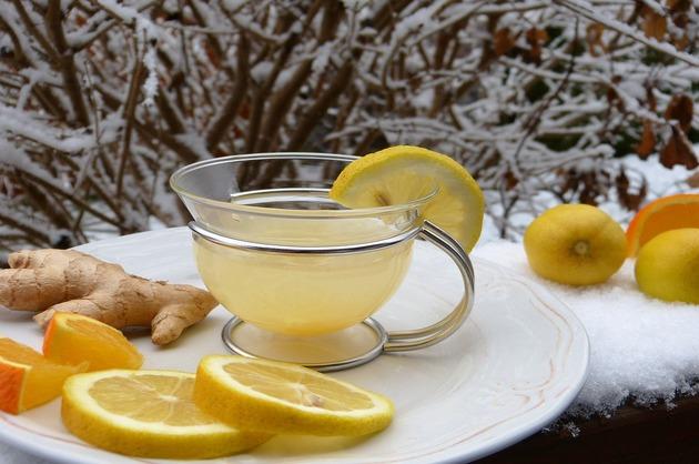 Ceai cu ghimbir şi miere
