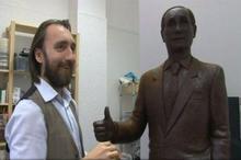 Vladimir Putin va avea o statuie de ciocolată la Sankt Petersburg