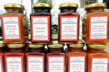 DULCEGĂRII Alba: Dulceață de sfeclă roșie, mere și ghimbir și de dovleac, mere și scorțișoară, produse la Cetea
