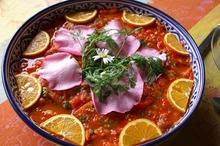 Mâncare de roşii şi quinoa