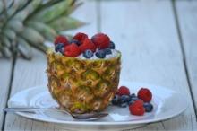 Smoothie în ananas